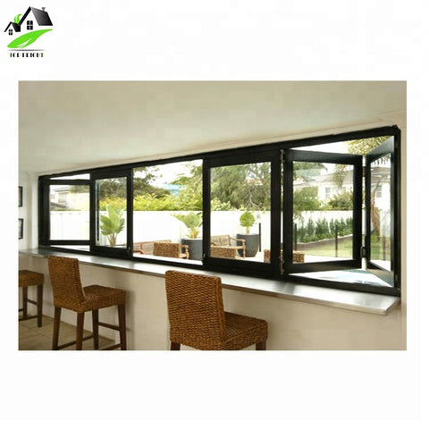 Aluminum Clad Wood Accordion/Bifolding Doors and Windows on China WDMA