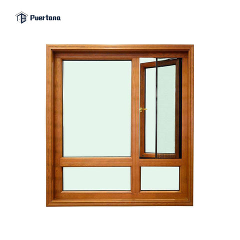 Aluminum Cladding Wood Window Pivoting Window / Round Window / Circle Window on China WDMA