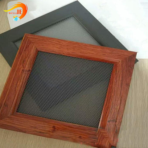 Aluminum Expanded metal mesh Security window and Door Screen wire Mesh on China WDMA