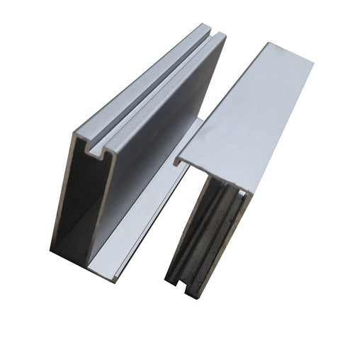Aluminum Frame Glass Door Drawer Glass Front Door profiles with G handle for windows and doors on China WDMA
