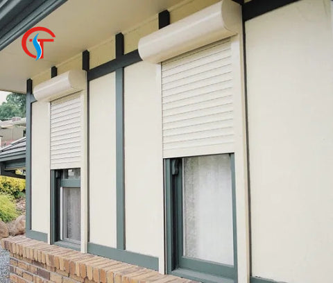 Aluminum Long Life Shutter Windows Shutter rolling Doors Roller Doors for Garage on China WDMA