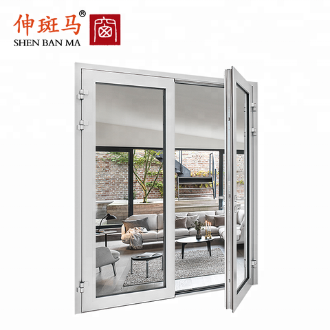 Aluminum Mesh 3 Panel Track Glass Patio Door Price Mosquito Net Sliding Screen Door on China WDMA