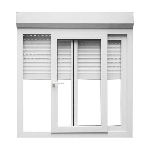 Aluminum Profile Sliding Windows Roller Shutter Exterior Window on China WDMA