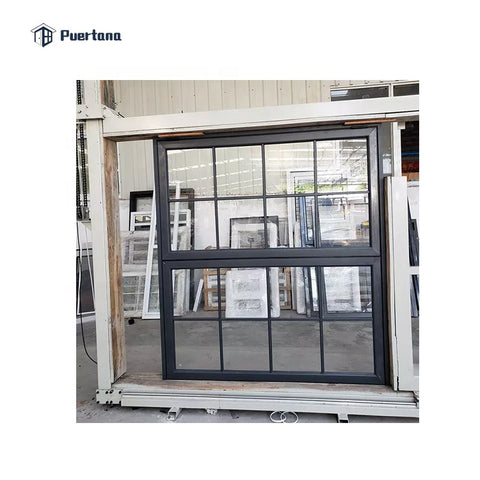 Aluminum Profile Vertical Sliding Fold Up Windows and Door