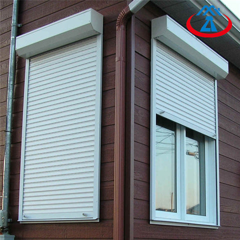 Aluminum Rolling Shutter Windows Electric Roll Up Shutter For Window