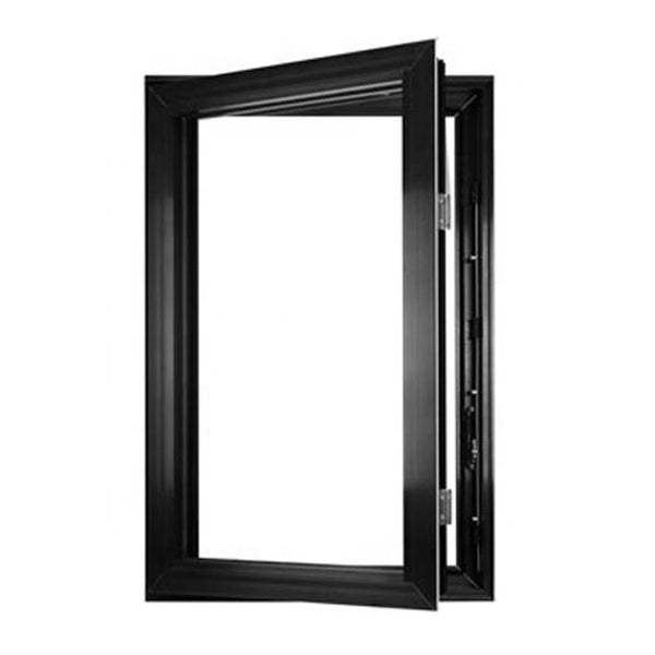 Aluminum Tempered Glass Casement Windows With Mosquito Net In Philippine Minimal Window Architectural Window on China WDMA