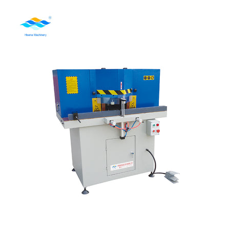 Aluminum UPVC Profile Frame 45 degree Cutting Machine for Aluminum window door manufacturing on China WDMA