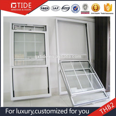 Aluminum Vertical double hung window Aluminum alloy glass window on China WDMA