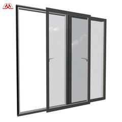 Aluminum Wood Window Curved Glazing Pane Glass Cheap Sliding Horizontal Pivot Windows With Blinds on China WDMA