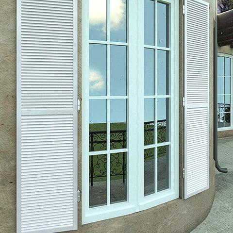 Aluminum alloy blinds manually Wood Jalousie Windows on China WDMA