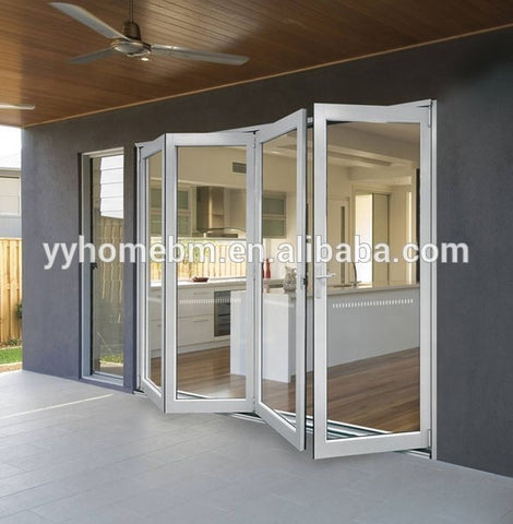 Aluminum alloy doors and windows American standard Bi-Fold door on China WDMA