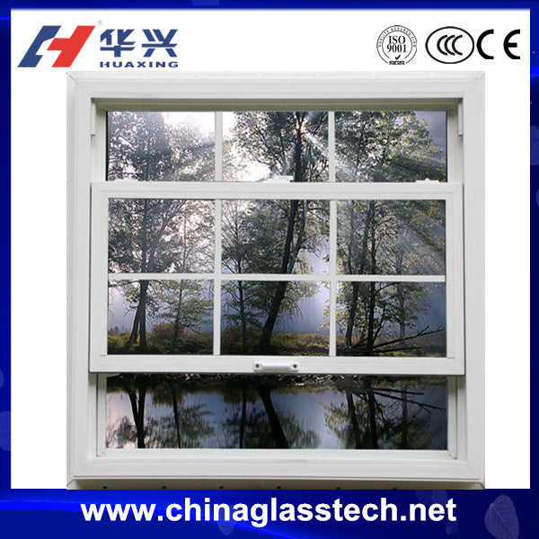 Aluminum alloy frame easy Installment cheaper price vertical sliding window grill design india on China WDMA
