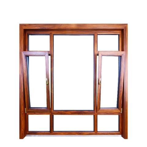 Aluminum alloy glass double hung window on China WDMA