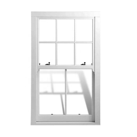 Aluminum custom victorian vertical sliding double glazed sash windows on China WDMA
