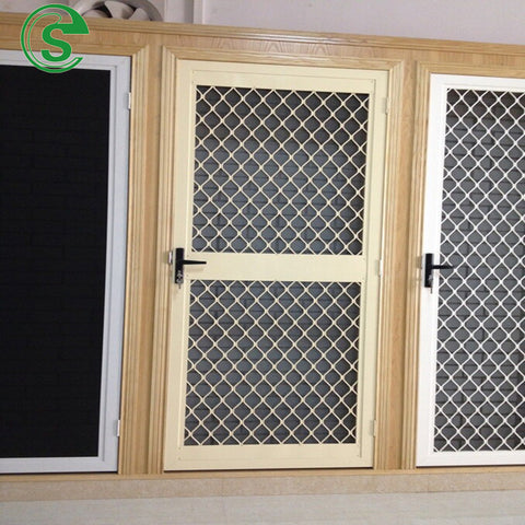 Aluminum diamond security mesh for screens&doors on China WDMA