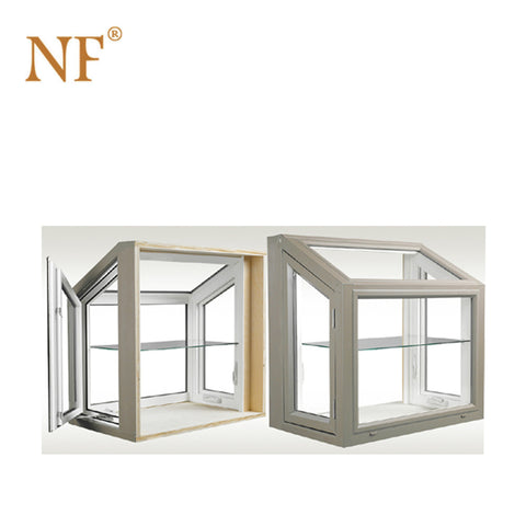 Aluminum frame fixed bow bay window with lock glass price on China WDMA