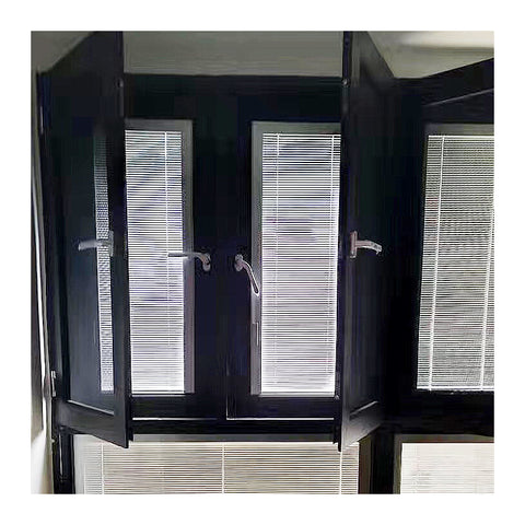 Aluminum frame fixed solid bullet proof laminated safety glass window on China WDMA