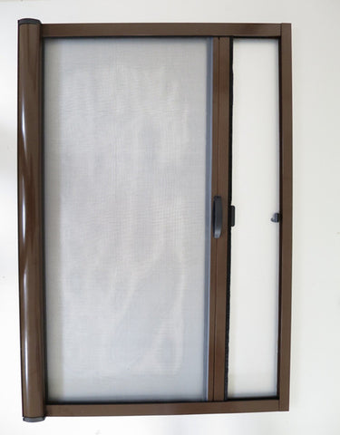 Aluminum frame retractable screens for door folding mosquito screen door on China WDMA