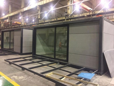 Aluminum glass folding accordion door on China WDMA
