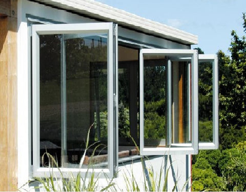 Aluminum glass folding door and folding window on China WDMA