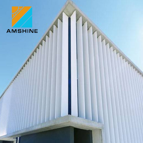 Aluminum outdoor window shutter/sun shade /louvre panels on China WDMA