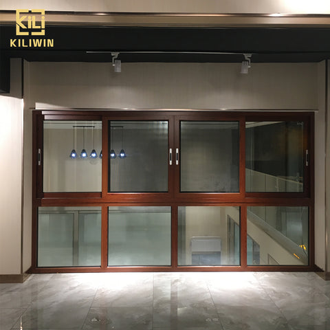 Aluminum profile window project supplier hurricane impact sound proof sliding wooden designs windows in pakistan houses on China WDMA
