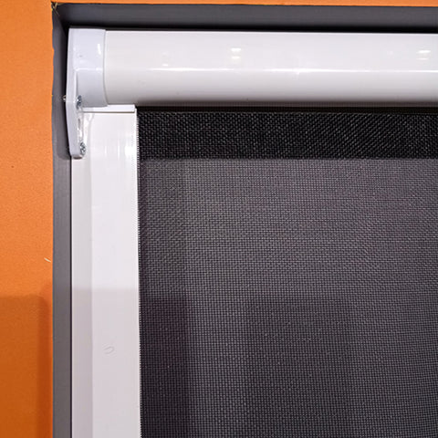 Aluminum roller window fiberglass insect screen sliding window on China WDMA