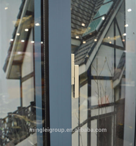 Aluminum sliding double glazed window on China WDMA