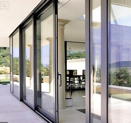 Aluminum sliding windows and door/hurricane proof aluminium window on China WDMA