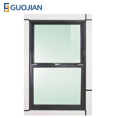 Aluminum small sliding vertical window single or double hung windows