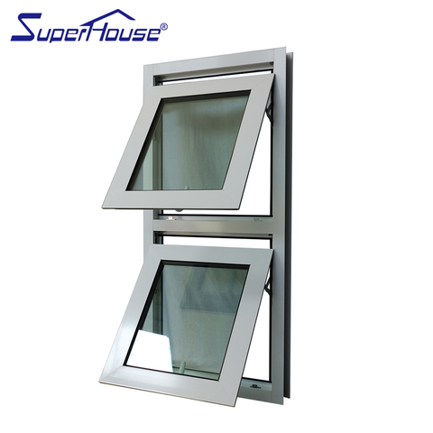 America standard aluminum alloy double awning window on China WDMA