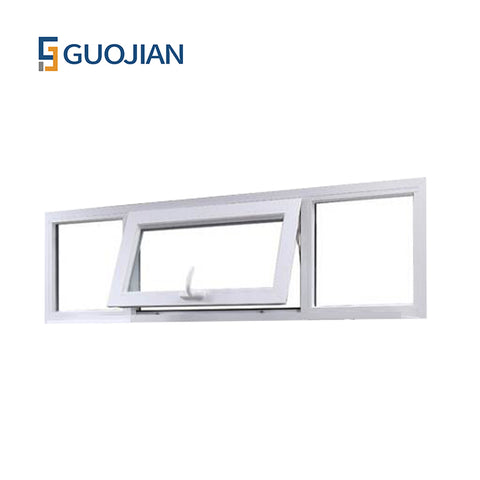 America style profile pvc awning windows cheap price upvc window on China WDMA