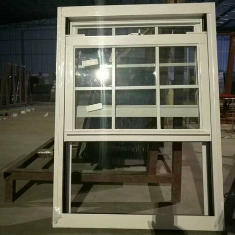 American Sliding Sash Glass Window Aluminum Up And Down Vertical Sliding Window zhouyang window and door on China WDMA
