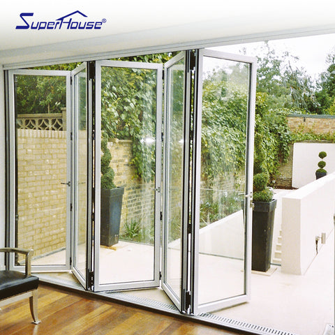 American Standard Testing folding door design accordion glass folding doors on China WDMA