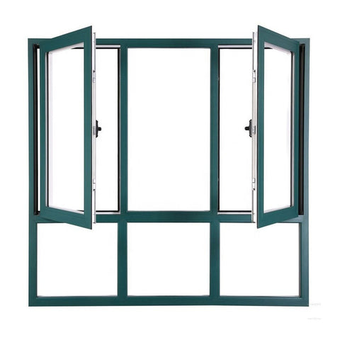 American Style Lifting Window Double Glass Window Frame Side Hung Casement Window For Building on China WDMA