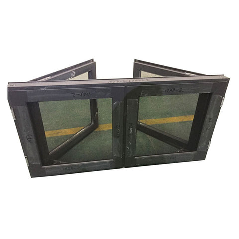 American standards high quality hurricane impact double laminated glazed french casement windows for sale on China WDMA