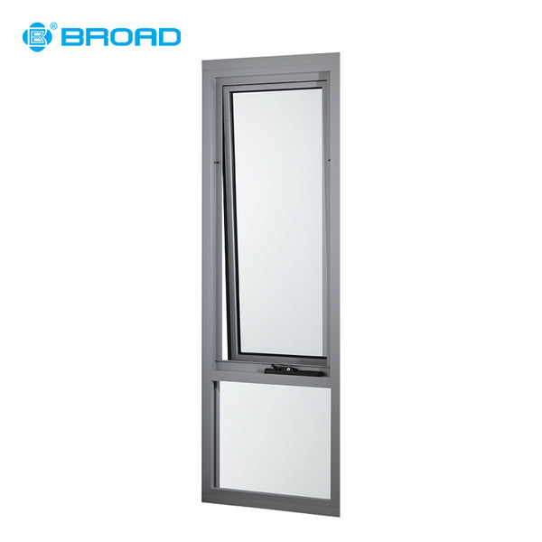 American style aluminum frame casement awing window with tinted glass on China WDMA