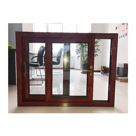 American style large size fixed office window design aluminium fix glass panel on China WDMA