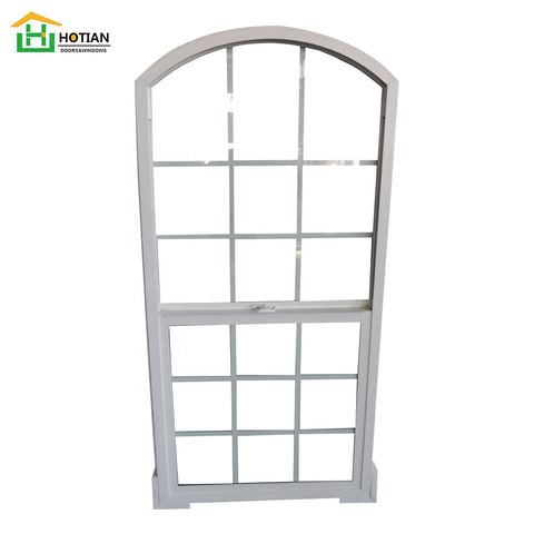 American style single hung replacement Vinyl windows Upvc windows for sale on China WDMA