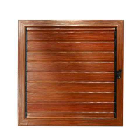 American style soundproof timber aluminum louvers windows exterior shutter jalousie windows on China WDMA