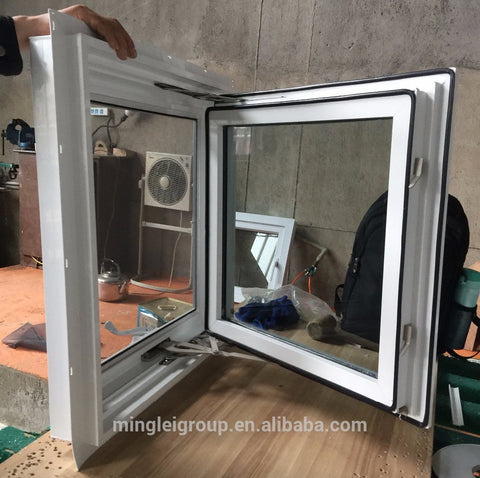 American style vinyl casement crank out windows on China WDMA