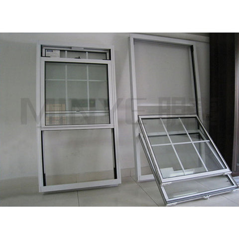 American style vinyl single hung vertical sliding windows on China WDMA
