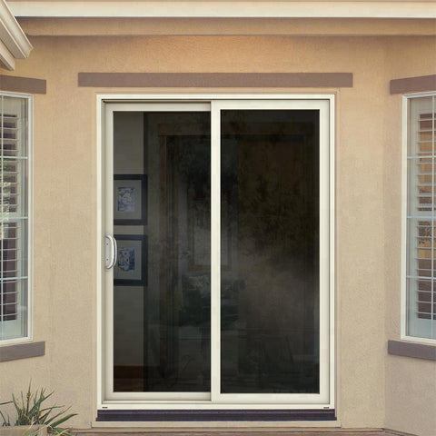 American vinyl patio exterior glass sliding door on China WDMA