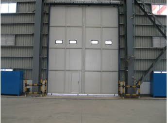 Anti-Hurricane Windproof Industrial Sliding Door for the factory on China WDMA