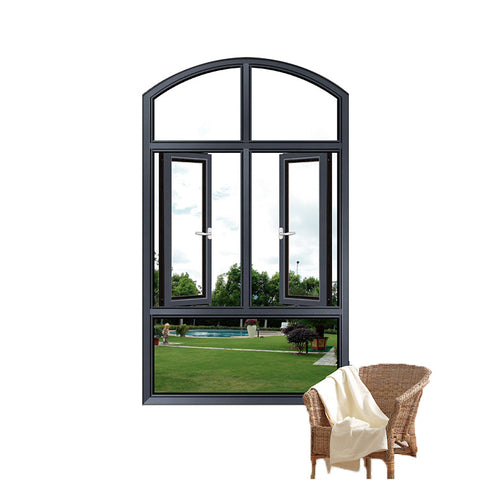 Arch Top Window PVC Arch Window Shade UPVC Arched Window For Sale on China WDMA