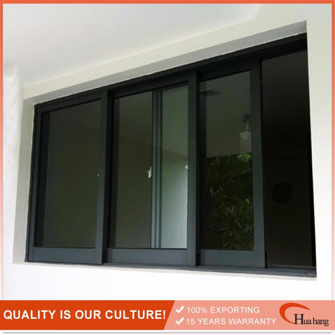 Attractive Price New Type Cheap Aluminum Bifold 2 Track Slide Windows on China WDMA