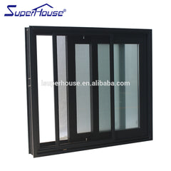Australia AS2047 standard commercial system stainless steel sliding window frame on China WDMA