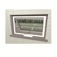 Australia American Aluminium Alloy Framed Lowes Chain Winder Aluminum French Casement Window Awning Window Crank Window