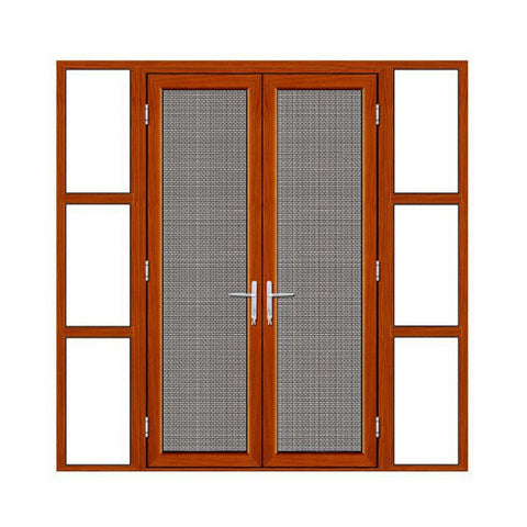 Australia standard AS2047 Interior office thermal break aluminum door with glass window on China WDMA