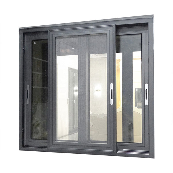 Australian Standard AS2047 AS1288 AS2088 Aluminum Frame accessories double glazed sliding glass windows price on China WDMA